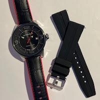 I.T.A イタリア 自動巻き 限定時計 ラバーベルト