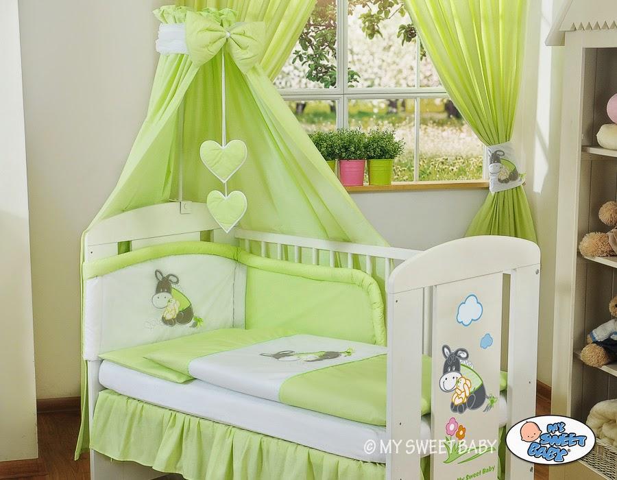 Dormitorios de beb en color verde  Colores en Casa