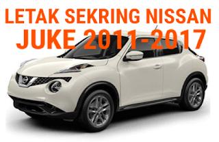 sekring NISSAN JUKE 2011-2017