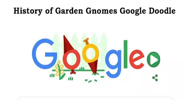 Popular past Google Doodle  play at home: Garden Gnomes
