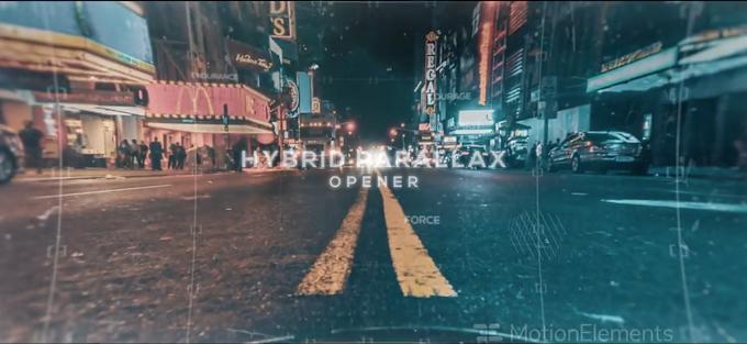 Hybrid Parallax Opener