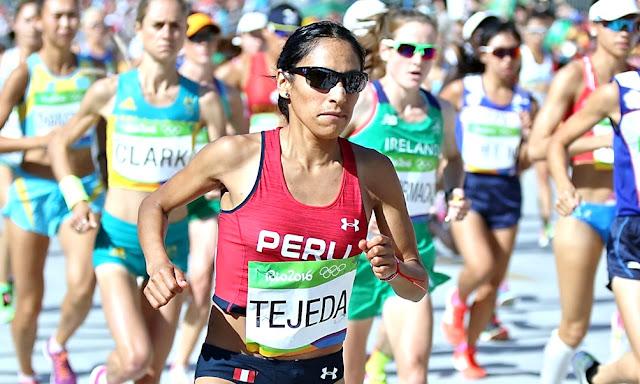 Gladys Tejeda clasificó a los Juegos Olímpicos Tokio 2020