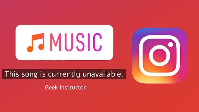 Fix This song is currently unavailable in Instagram story