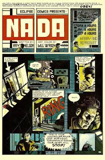 Cómic Nada de Eclipse Comics