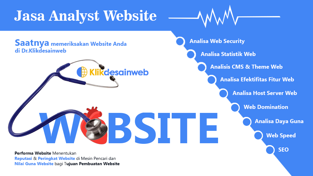 jasa analyst website,konsultan website,jasa audit website
