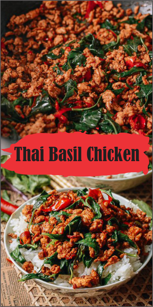 Best and Easy Thai Basil Chicken