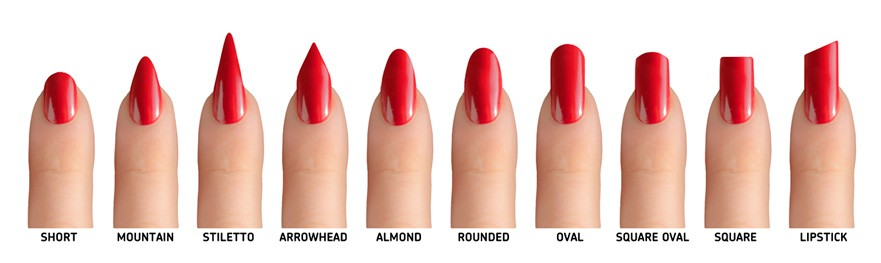 How To Choose Best Nail Shape For You And Which Belongs Personality Can We Get Or Achieve That