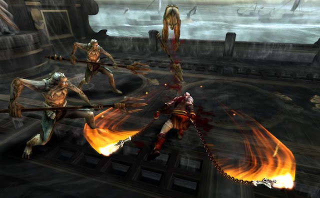 God of war ghost of sparta iso Free PSP Game4