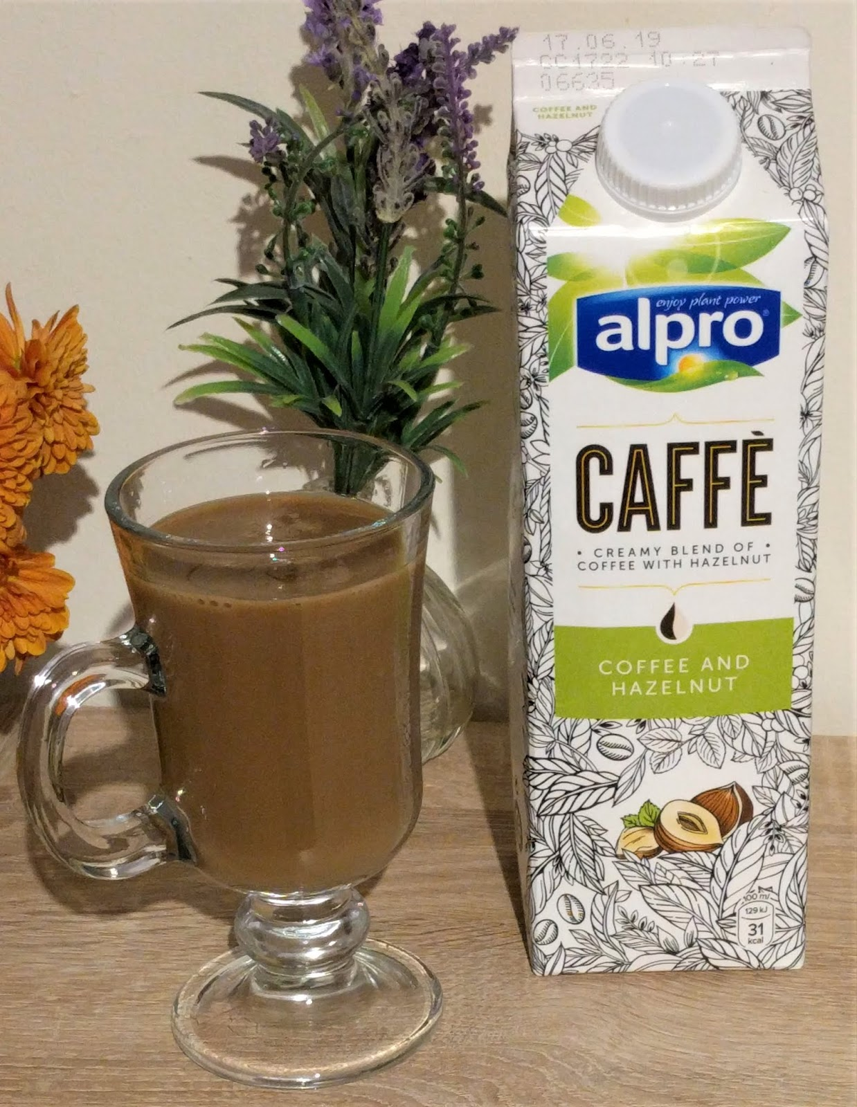 Diets And Calories Alpro Caffe Coffee Hazelnut Drink Review