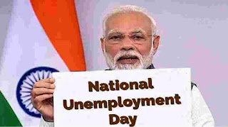 congress-celebrate-unemployeement-day-on-modi-birth-day