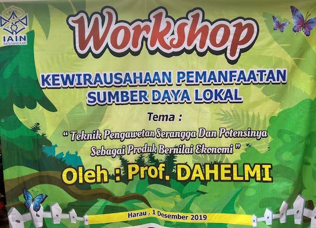 Workshop Kewirausahaan Jurusan Tadris Biologi