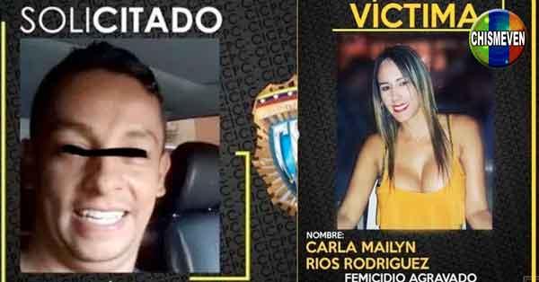 SOLICITADO   Por haber asesinado a su Ex-Mujer en Caracas