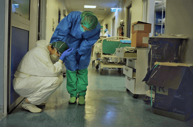 Italy already surpassed China in death toll with 3,400.  With more than 41,000 confirmed cases, the country's doctors and nurses, particularly in the hardest-hit cities in the north, are struggling to keep going day by day.