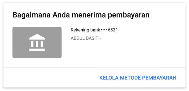 Cara Menerima Gaji atau Pembayaran Dari Google Adsense