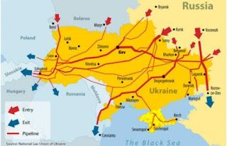 gazprom pipelines eu