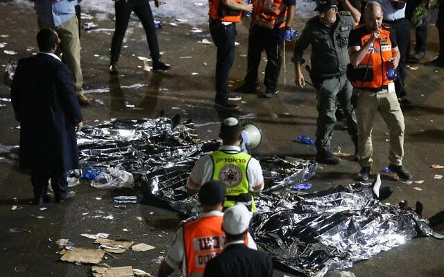 Pelo menos 45 pessoas são pisoteadas até a morte durante festa judaica em Israel