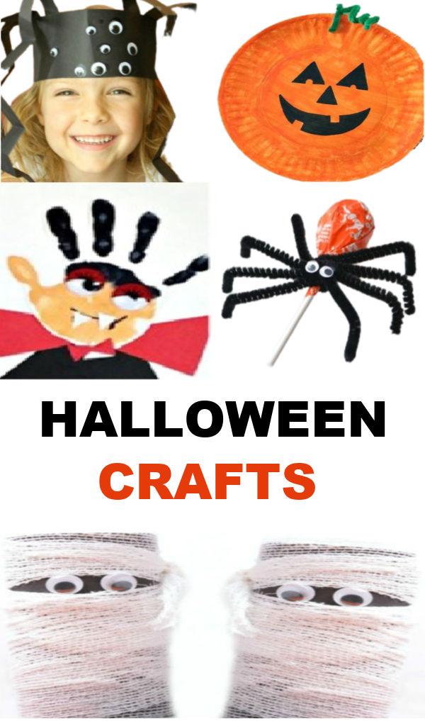 Fun & creative Halloween craft activities for kids #halloween #halloweencrafts #halloweenactivitiesforkids #growingajeweledrose