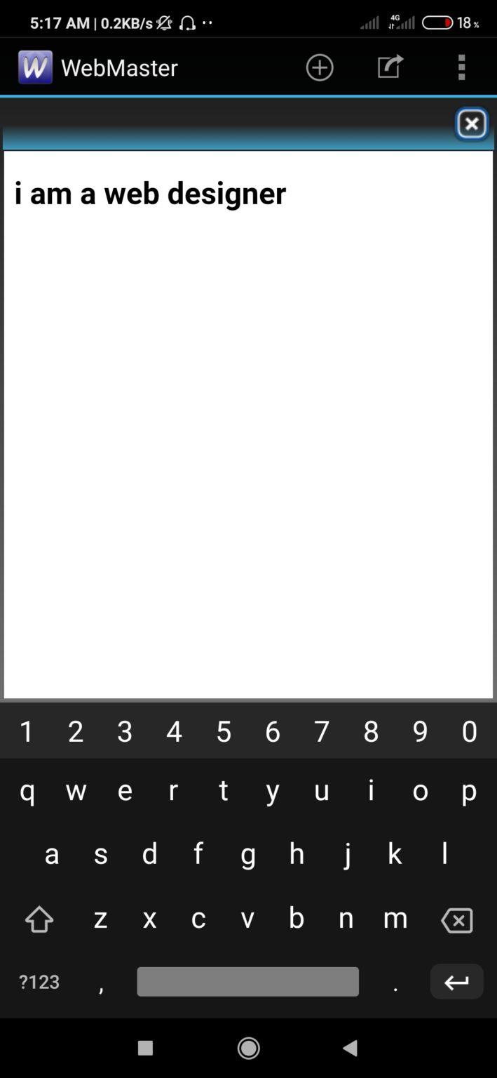 Webmaster HTML Editor premium version   -   ৪০০ টাকা দামের পেইড app ডাওনলোড করুন ফ্রিতে।