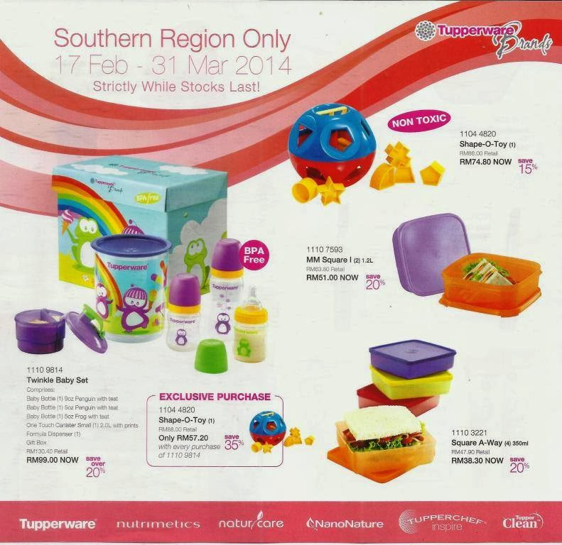 tupperware malaysia katalog februari mac 2014 tupperware catalogue february 2014. Black Bedroom Furniture Sets. Home Design Ideas