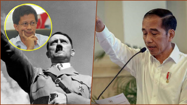 Jokowi Mau Buat BRIN Dibawahi BPIP, Rocky Gerung: Saya Ingat Proyek Hitler