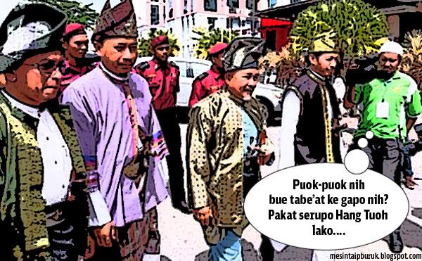 Pas buang tabiat: Dari parti Islam nak jadi parti Melayu....