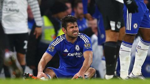 Diego Costa bị chấn thương, ai sẽ thay thế vị trí trung phong của anh?