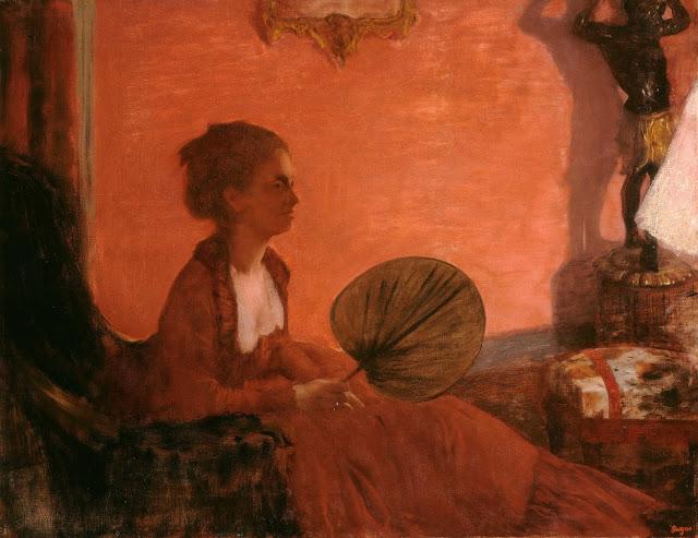 Эдгар Дега - Мадам Камю (1869-1870)