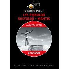 Eksen LYS Psikoloji - Sosyoloji - Mantık Anlatım Kitabı