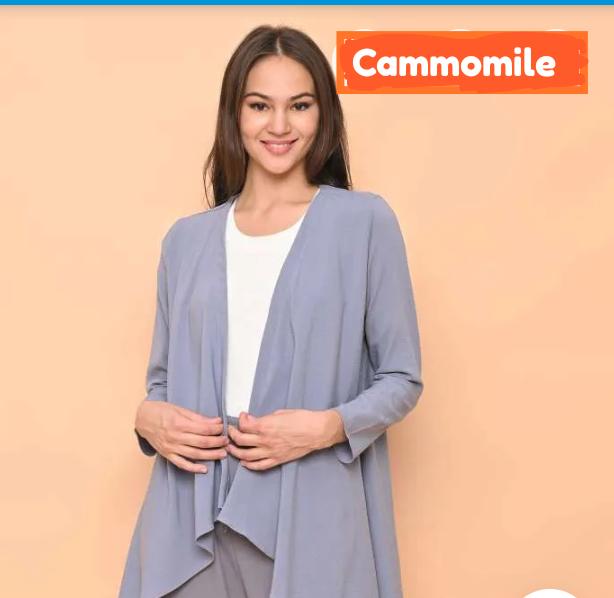 Cammomile oufit wanita stylish