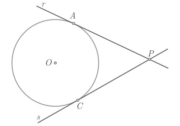 Teorema de Pitágoras baseado na potência de um ponto - Figura 3b