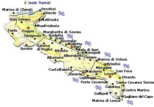Cartina Politica Puglia Con Province.Mappa Della Citta Di Provincia Regionale Italia Cartina Politica Della Puglia