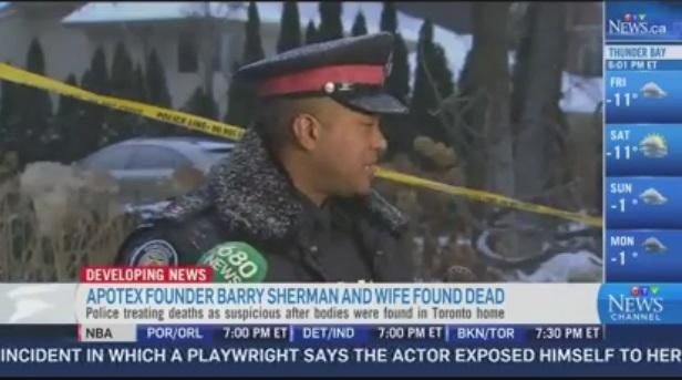 Toronto billionaire, wife found dead in Toronto mansion