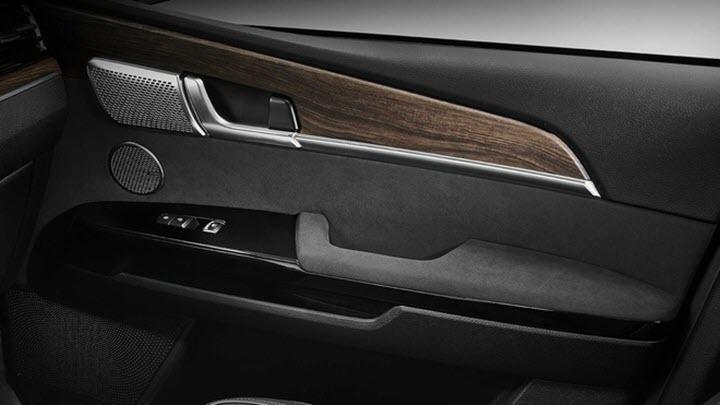 SUV 7 chỗ của Kia sở hữu nhiều công nghệ như xe sang
