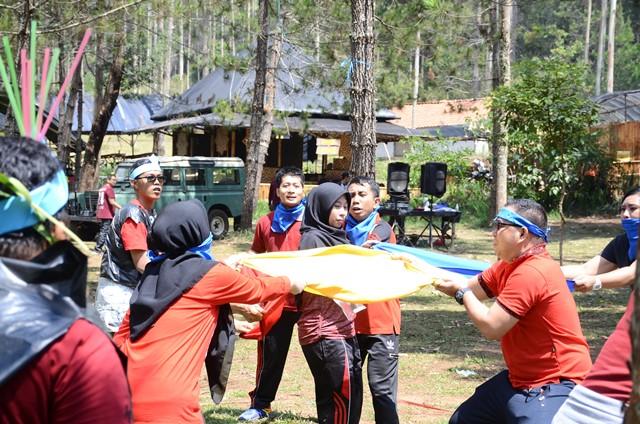 Outbound Lembang Bandung-Outbound Cikole Lembang