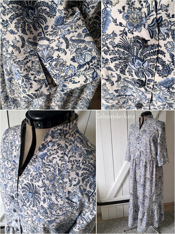 Kleid Sombra Schnittmuster für ein Sommerkleid