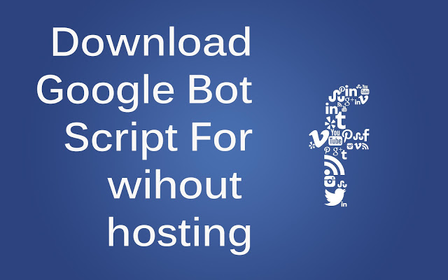 facebook BOT WITHOUT ANY HOSTING AND CORNJOB