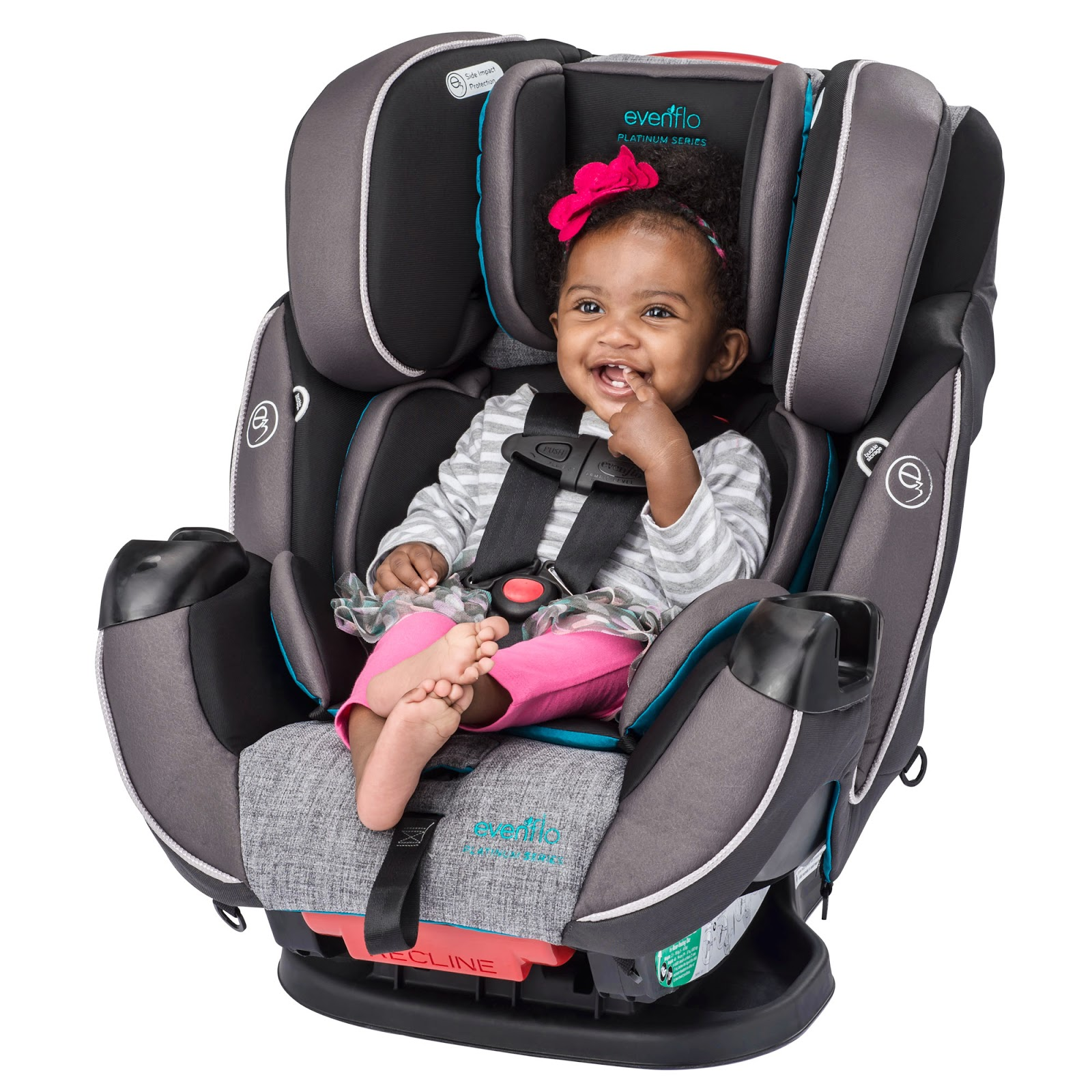 The Pockets Allow Moms To Tuck Buckle Tongues Away Making It Easier Get A Child
