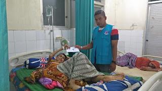 LPD kembali santuni Irwan, Penderita Tumor Ganas dari Kota Lhokseumawe