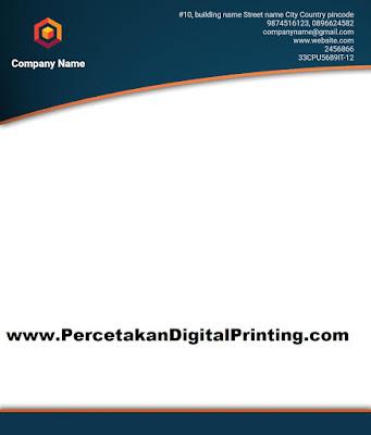 Contoh Contoh Desain KOP SURAT Dari Percetakan Digital Printing Terdekat