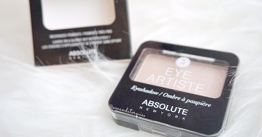#AbellReview : Absolute Newyork : Matte Lipstick and Single Eyeshadow: