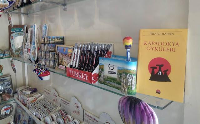 Kapadokya Öyküleri Paşabağları ve Göreme Açıkhava Müzesinde satışta