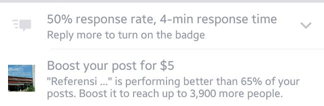 Cara menaikkan traffic blog, sponsored post, tips blogging, facebook ads