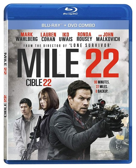 Mile 22 (2018) 720p HEVC BluRay x265 Esubs [Dual Audio] [Hindi ORG – English] – 550 MB