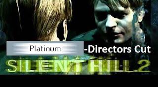 Silent Hill 2 -Directors Cut PS2 Versão Platinum 2001 Grátis