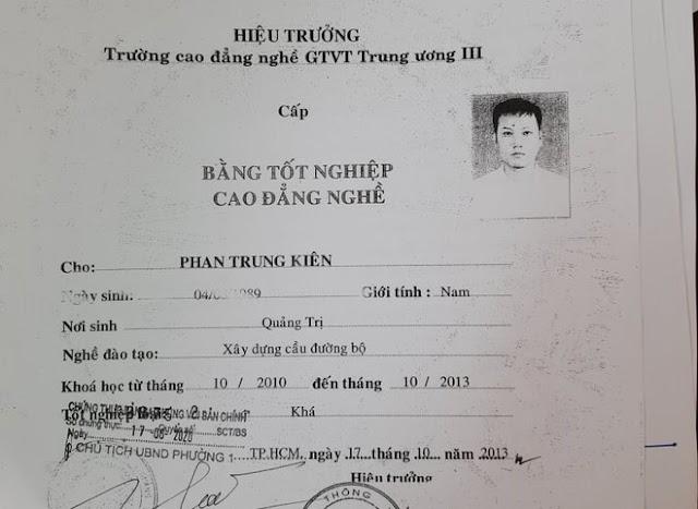 Phát hiện 2 người dùng bằng giả trong hồ sơ giáo viên dạy lái xe ô tô