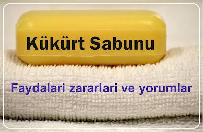 kükürt sabunu faydaları