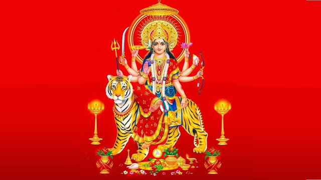 Navratri Durga Puja Wallpaper
