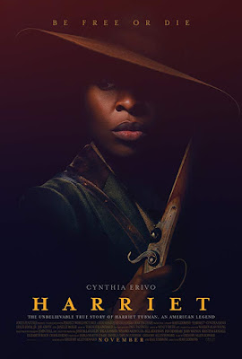 "2019 movie poster about the Harriet Tubman biopic ""Harriet"""