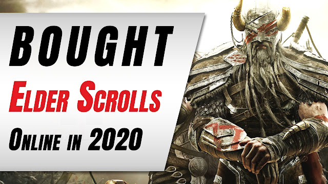 How I Bought The Elder Scolls Online in 2020?