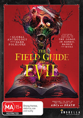 Cover art for Umbrella Entertainment's DVD release of THE FIELD GUIDE TO EVIL!